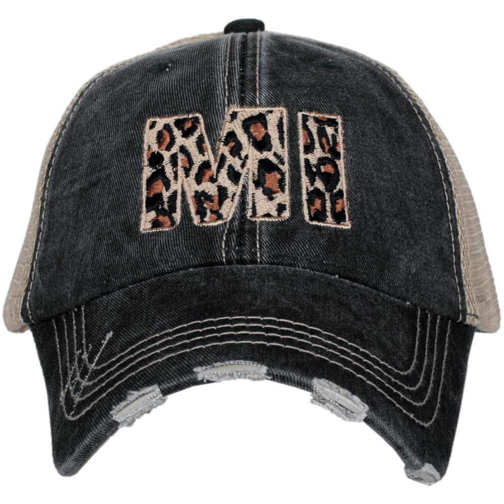 MI Michigan Leopard State Hat