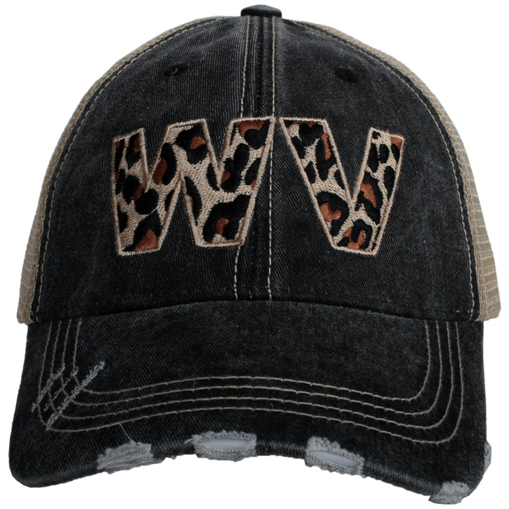 West Virginia Leopard State Hat
