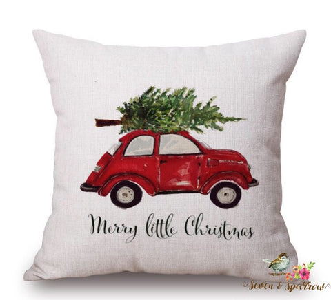 Farmhouse VW Pillow Cover
