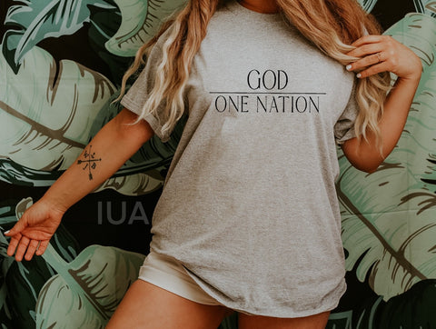 One Nation Under God (unisex)