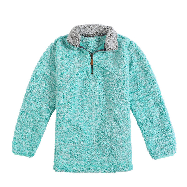 DOORBUSTER: Sherpa PULLOVER with Pockets
