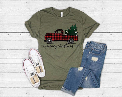 Christmas Truck | short and long sleeve