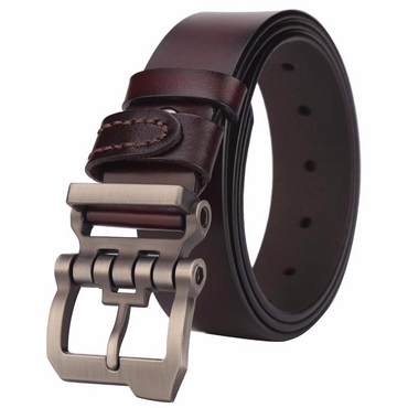 High Quality Cowskin Personality Buckle