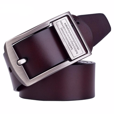 High Quality Jeans Letter Buckle Belt