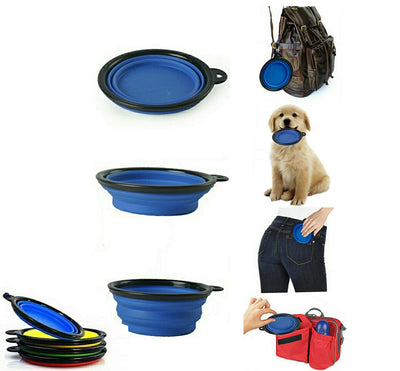 Folding Silicone Dog Bowl