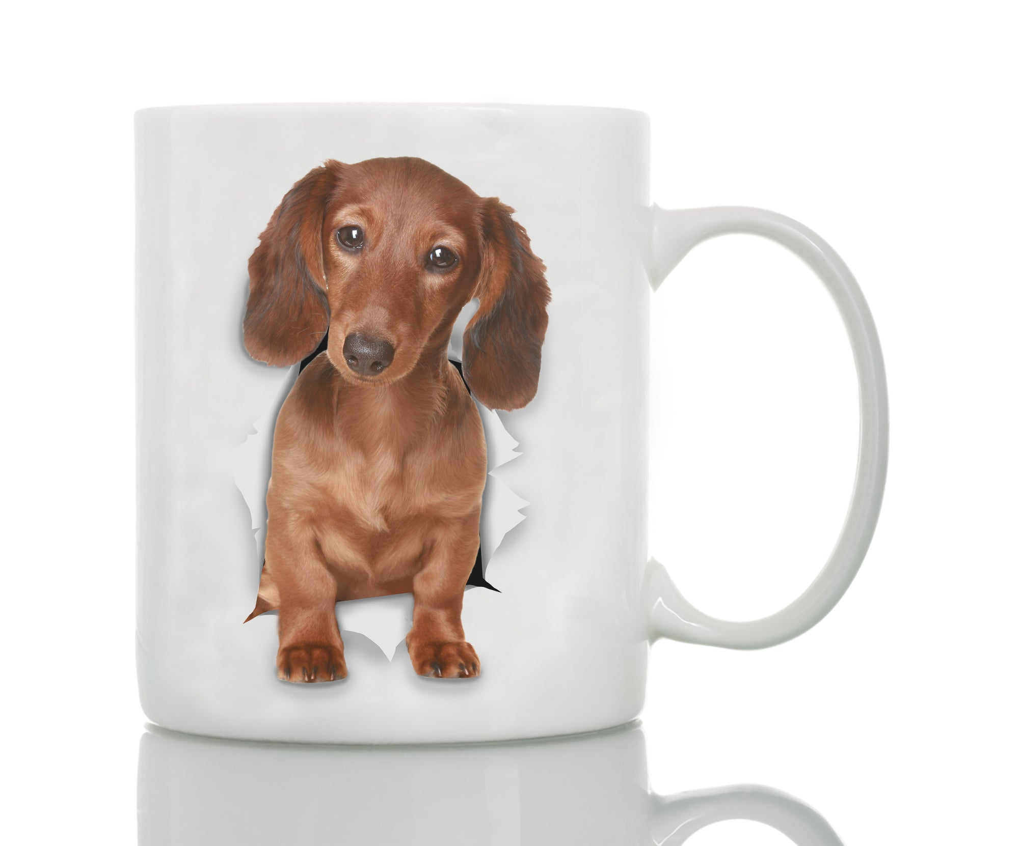 Adorable Dachshund Mug