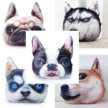 Cuzzle Pets - The Cutest 3D Pet Pillows