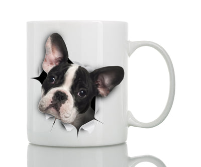 Black & White French Bulldog Mug