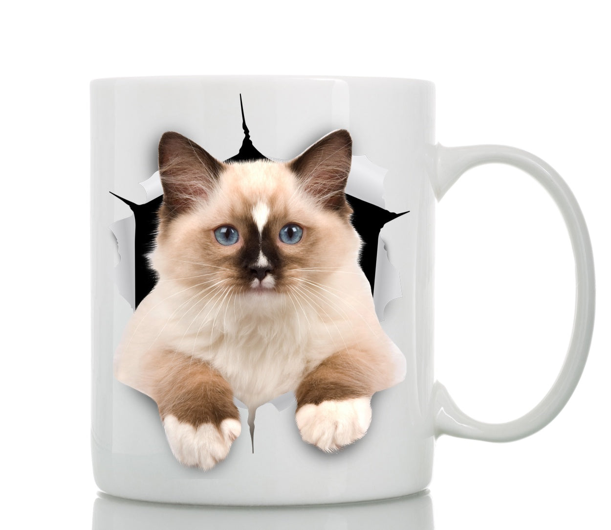 Brown Ragdoll Cat Mug