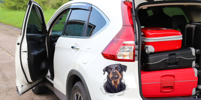 Funny Rottweiler Decals