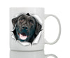 Cute Black Labrador Mug