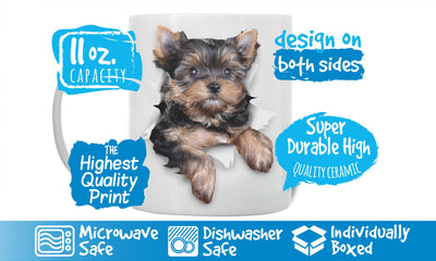 Cute Yorkshire Terrier Mug