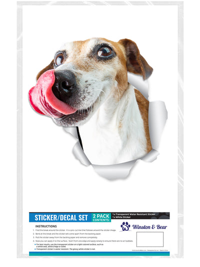 Hungry Jack Russell Decals
