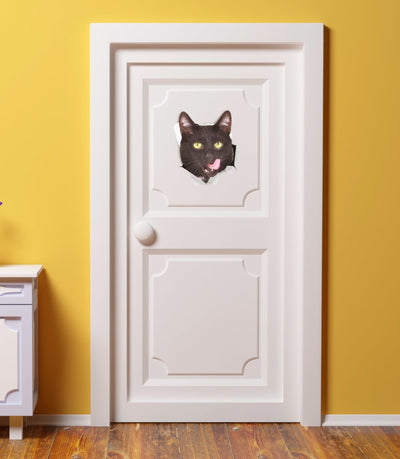 Adorable 3D Cat Stickers