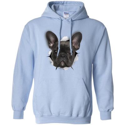 Black Frenchie Pullover Hoodie