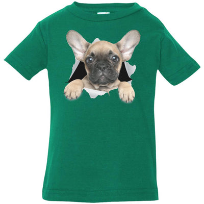 French Bulldog Pup Infant Jersey T-Shirt