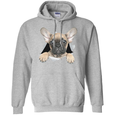 French Bulldog Pup Pullover Hoodie