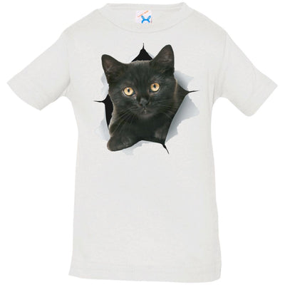Black Kitten Infant Jersey T-Shirt