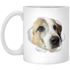 WB6501A-1 Frieda 11 oz. White Mug