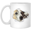 WB6501A-2 Frieda 11 oz. White Mug