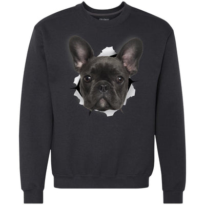 Black Frenchie Heavyweight Crewneck Sweatshirt