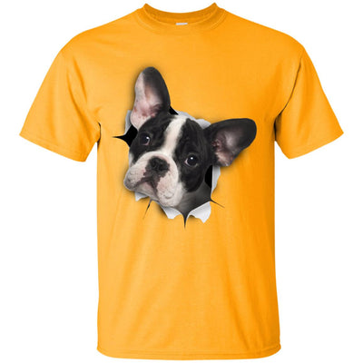 Black & White Frenchie Ultra Cotton T-Shirt