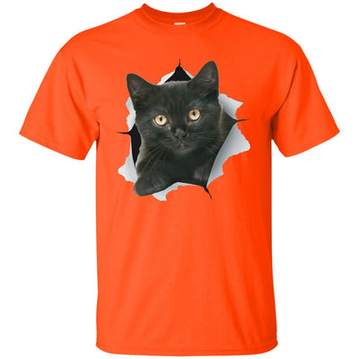 Black Kitten Ultra Cotton T-Shirt