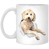 WB6477A Dolly 11 oz. White Mug