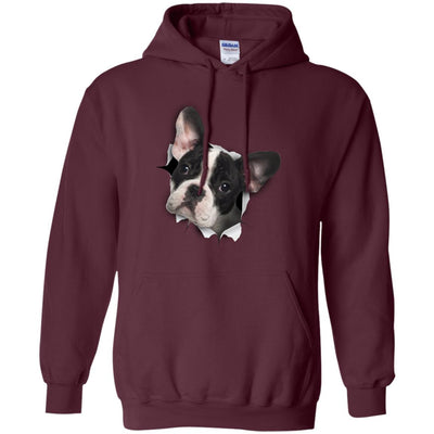 Black & White Frenchie Pullover Hoodie