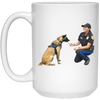 WB6482A Delta and Molly 15 oz. White Mug