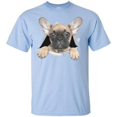 French Bulldog Pup Youth Cotton T-Shirt
