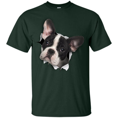 Black & White Frenchie Youth Cotton T-Shirt