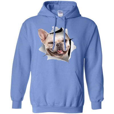 Winking Frenchie Pullover Hoodie