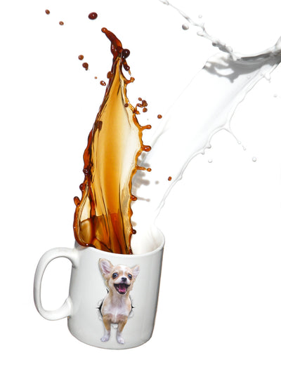 Excited Chihuahua Mug