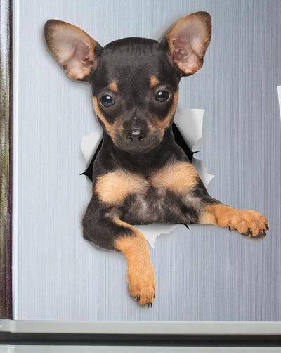 Toy Terrier Puppy Decals