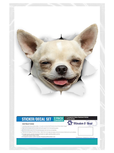 Happy Chihuahua Decals