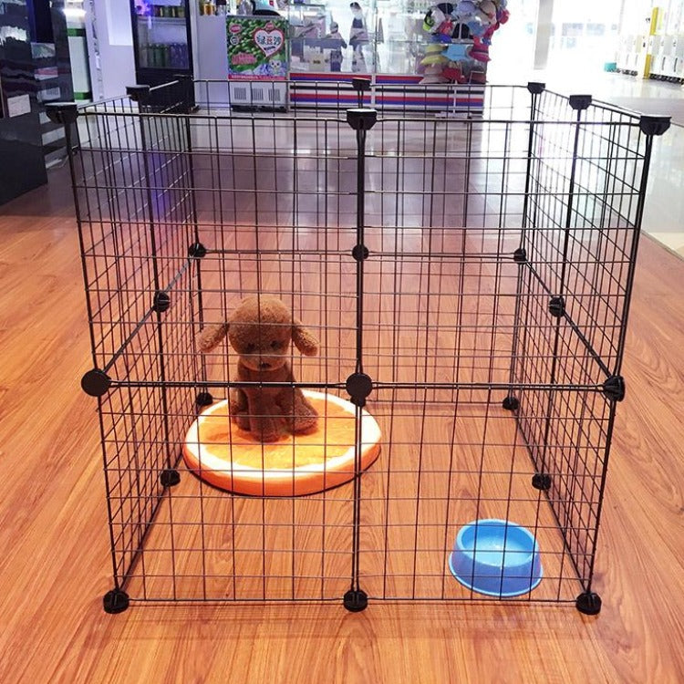 DIY Pet Iron Playpen