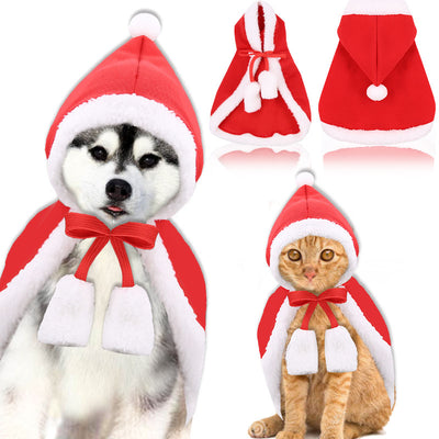Dog Christmas Jacket With Cap