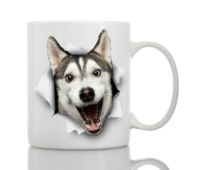 Happy Husky Mug