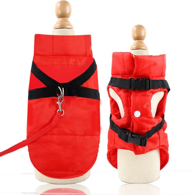 Padded Waterproof Jacket For Dogs