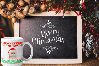 Custom Your Pet Christmas White Mug