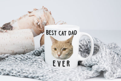 Custom Your Pet White Mug - Best Cat/Dog Mom/Dad Ever