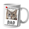 Custom Your Pet White Mug - Mom/Dad/Best Friend