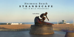 Hermosa Beach Strandscape Hardcover book