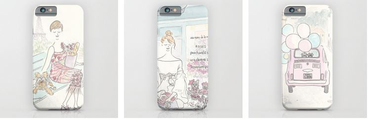 pet and paris phone cases by shell sherree