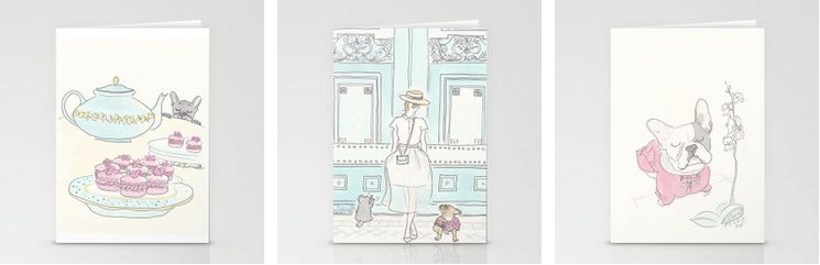 pet cards, paris and fashion by shell sherree