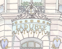 laduree paris print by shell sherree