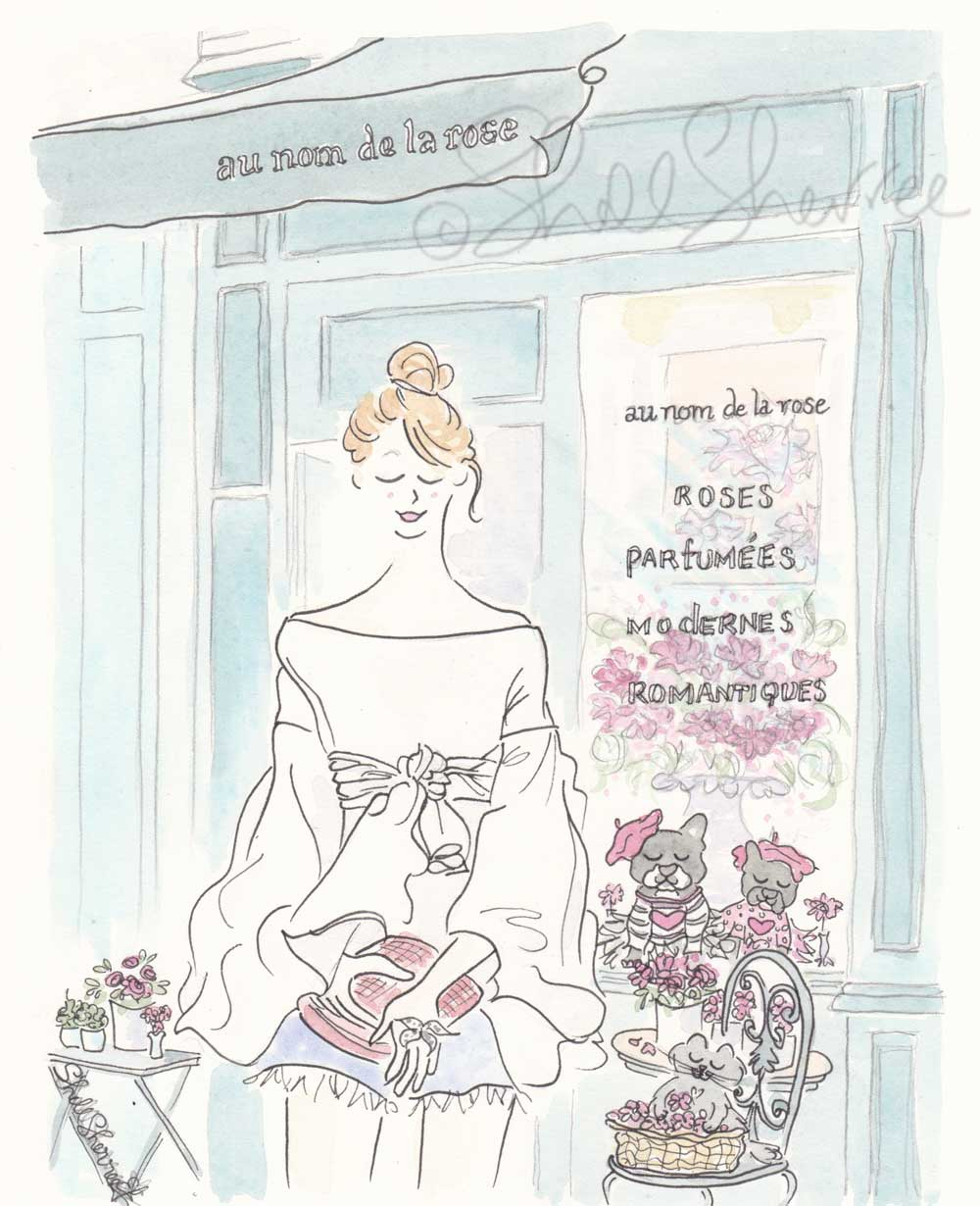 french bulldogs paris french flower shop by shell sherree