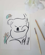 koala original artwork shell sherree