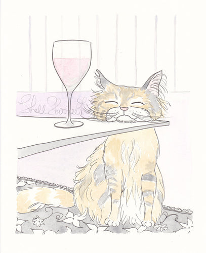 https://shellsherreestudio.com/products/tabby-cat-and-wine-time-art-print-by-shell-sherree